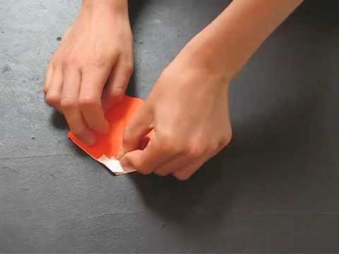 How to fold an Origami Pumpkin designed by Michael Anton