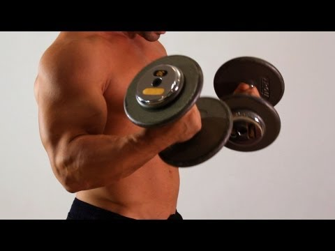 Dumbbell Biceps Curl | Home Arm Workout for Men