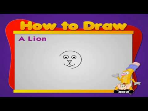 Learn to Draw Animals - Lion