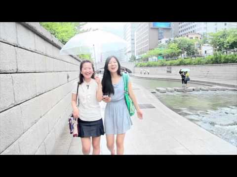 Walk and Talk in Korean - Cheonggyecheon Stream (청계천)