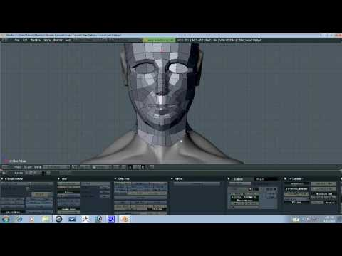 Blender Tutorial - Head Retopo Part 5/10