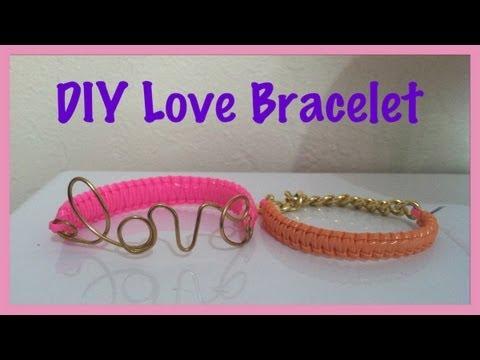 DIY Hello Berry/Love Wire Bracelet Tutorial