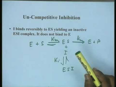 Lecture - 10 Reversible Inhibition