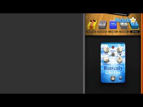 Heavenly Chorus Pedal - GarageBand Tutorial