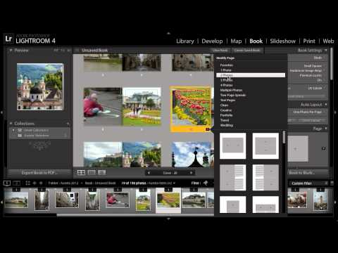 Lightroom for Travel Photography: Creating a Photo Book