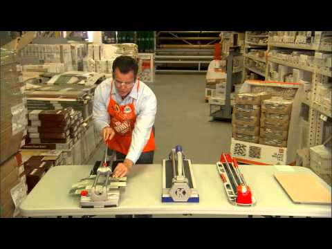 Rubi Tile Cutters Demonstration