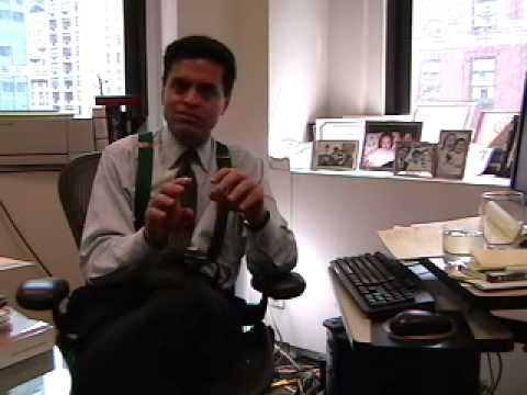 Fareed Zakaria on information graphics (plus a blooper...)