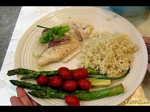 COOKING: Coconut Shallot Marinated Fish