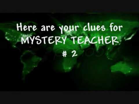 Mystery Teachers Week 12 REVEALED