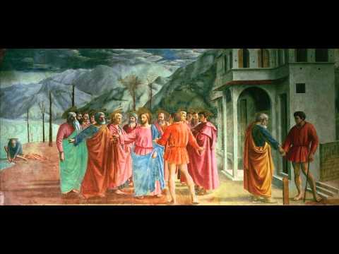 Masaccio, The Tribute Money, 1427