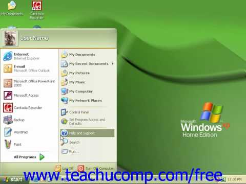 Windows XP Tutorial Windows Firewall Service Pack 2 Microsoft Training Lesson 7.8