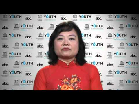 Phan Thi Kim Phúc, UNESCO Goodwill Ambassador, encourages youth worldwide to stand up for change