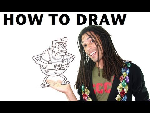 How to Draw Mermaid Man