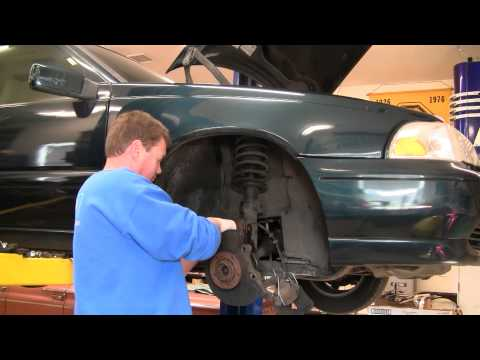 How To Install Replace Front Wheel Hub Bearing Assembly 98-00 Volvo S70 1AAuto.com