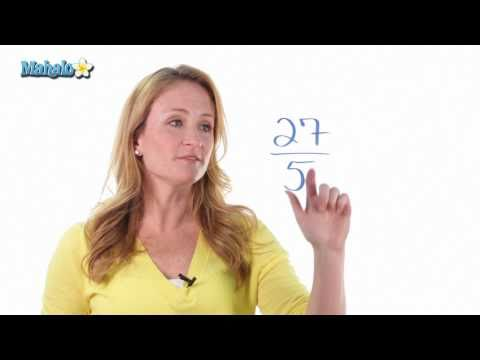 How to Convert Fractions Into Mixed Numbers
