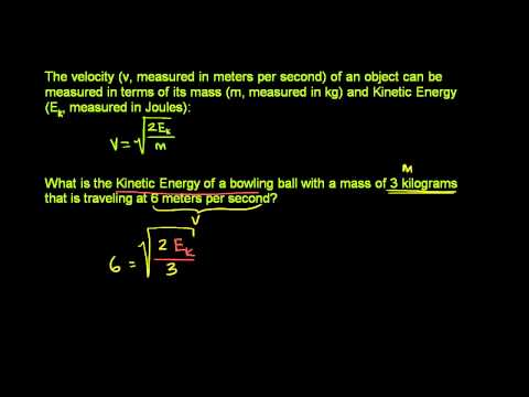 Radical Equation Application Problem