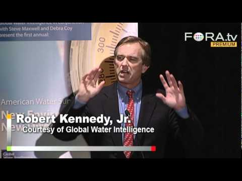RFK Jr. Speaks Out Against Water Supply Contamination