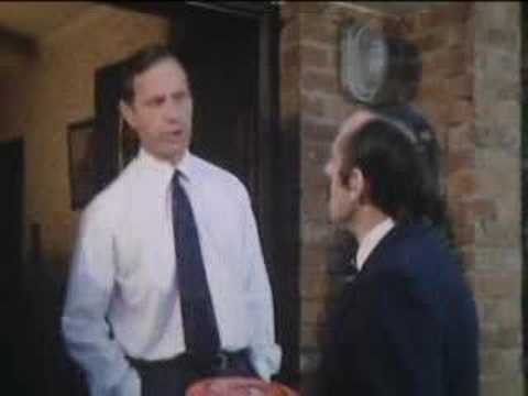 Returning frisbee - Butterflies - BBC classic comedy
