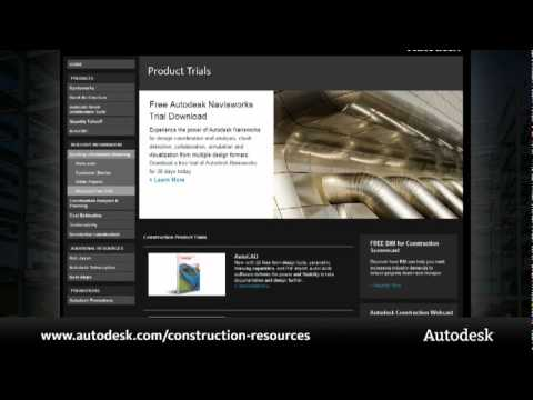 Visit the Autodesk Construction Resource Center