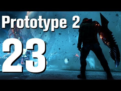 Prototype 2 Walkthrough Part 23 - A Maze of Blood [No Commentary / HD / Xbox 360]