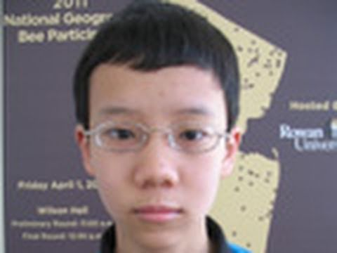 National Geographic Bee 2011 - NJ Finalist