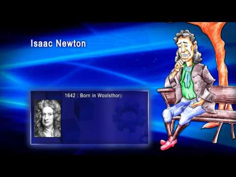 Top 100 Greatest Scientist in History For Kids(Preschool) - ISSAC NEWTON