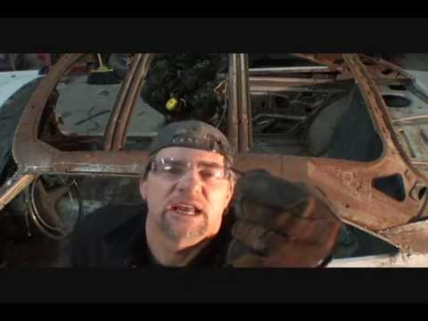 Rust Repair Made Easy-Car Roof Replacement-Part 6-Using An Air Hammer