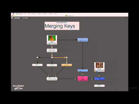 Nuke 6: Merging keys overview | lynda.com tutorial