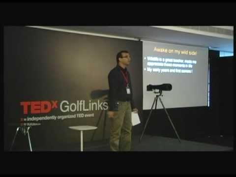 TEDxGolfLinksPark - Amit Sharma - Awake on your wild side