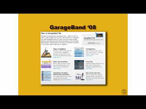 What's New in GarageBand 08 - New Features