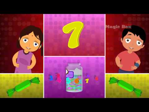 NUMBER - MALAYALAM  CARTOON  NURSERY  RHYMES - KINGINI CHELLAM