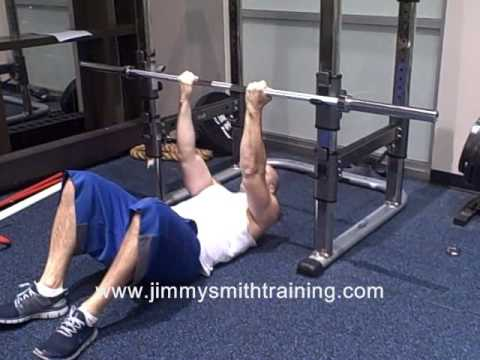 Supine Bodyweight Rows