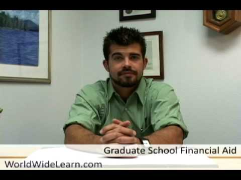 Paying for Graduate School: Financial Aid Options