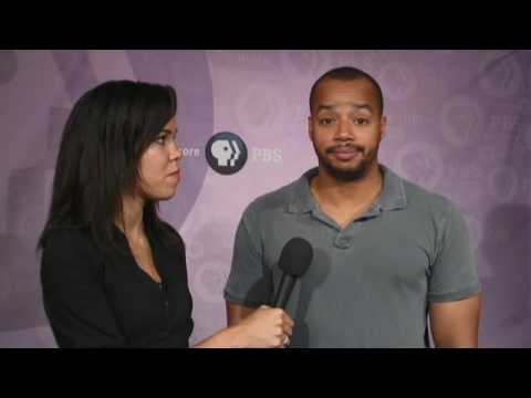PBS at the TV Critics Press Tour | Donald Faison interview