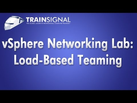 VMware Load Based Teaming