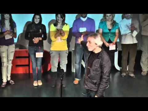 TEDxNBU - Rumen Tsonev - About music - sound, text and movement