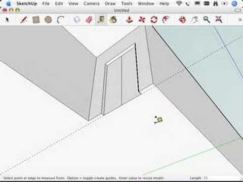 SketchUp: Resizing everything with the Tape Measure tool