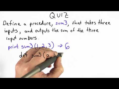 sum of three solution - CS101 - Udacity