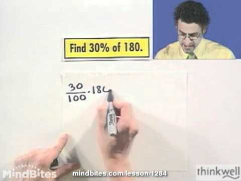 Pre-Algebra: Finding a Percent of a Number
