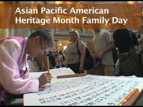 Smithsonian Asian Pacific American Heritage Month Family Day 2009 Overview