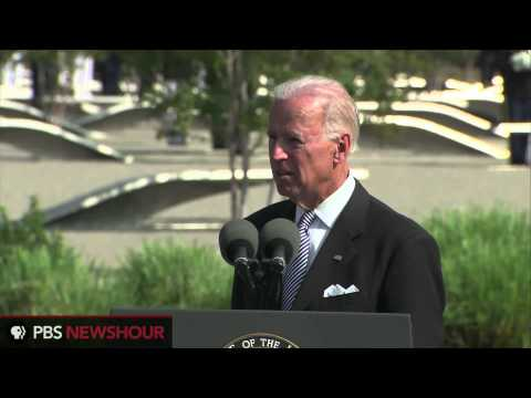 Vice President Joe Biden Speaks at the 9/11 Ceremony at the Pentagon