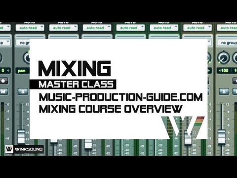 WinkSound | Production Master Class: Music Production Guide.com Course Overview