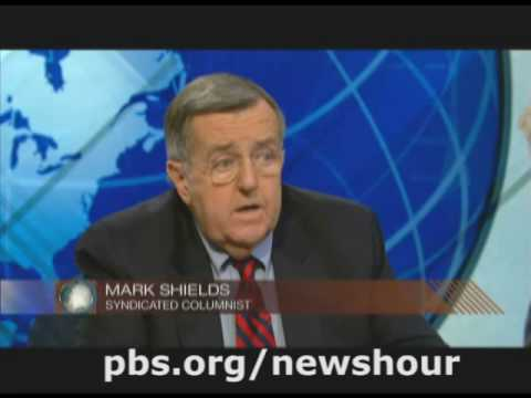 THE NEWSHOUR WITH JIM LEHRER | Shields and Brooks on Bailout Package and Obama's Transition | PBS