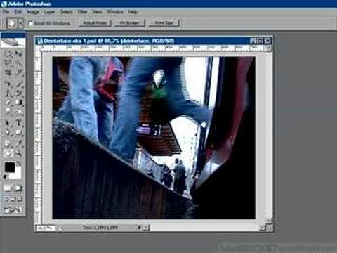 Photoshop for video: de interlace a video capture frame