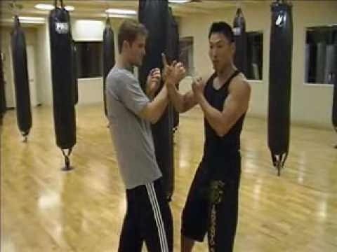 Wing Chun - Inside Triangle Footwork (basics) part 2