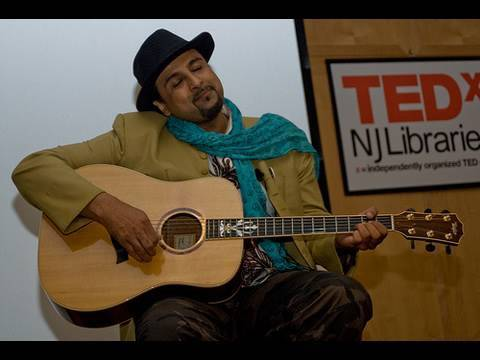 TEDxNJLibraries - Salman Ahmad - Sounds Intersecting and Overlapping Cultures