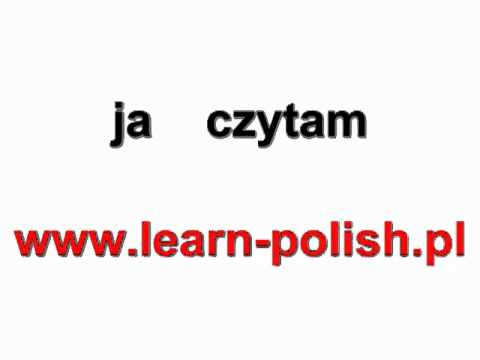 "Polish verbs. Conjugation of the verb ""to read"""
