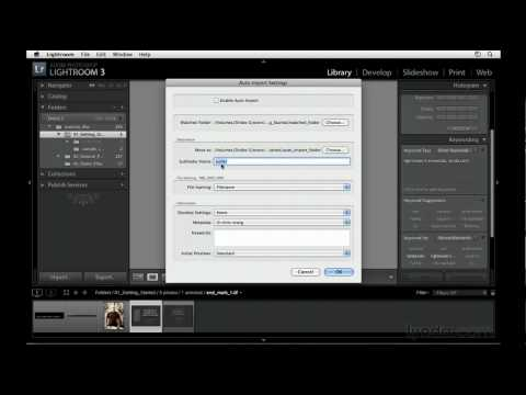 Photoshop Lightroom: How to use Auto Import | lynda.com tutorial