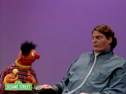 Sesame Street: Christopher Reeve and Ernie
