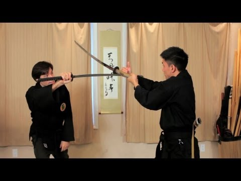 Sword Draw Defense Technique | Ninjutsu Weapons